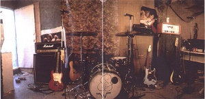 Colored photo of 'The Garage' as seen in The Blue Album Deluxe